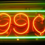Neon On Sale sign